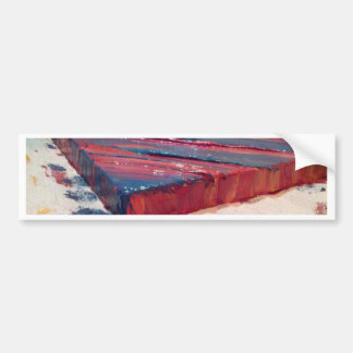 Abstract Painting Bumper Sticker