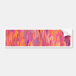 Abstract Painting Bumper Stickers