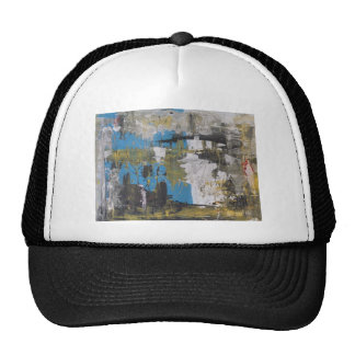 Abstract painting by s b Eazle Trucker Hat