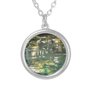 Abstract painting by s.b. Eazle Necklace