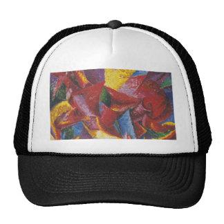 Abstract painting by Umberto Boccioni Hats