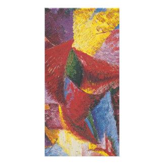 Abstract painting by Umberto Boccioni Photo Greeting Card