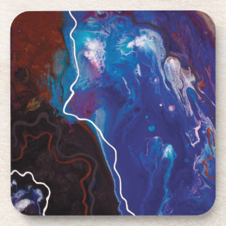Abstract Painting Coasters