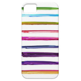 Abstract Painting | Colorful Paint Brush Strokes iPhone 5 Covers