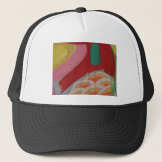 Abstract Painting Detail Trucker Hat