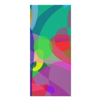 Abstract Painting Green Rack Cards