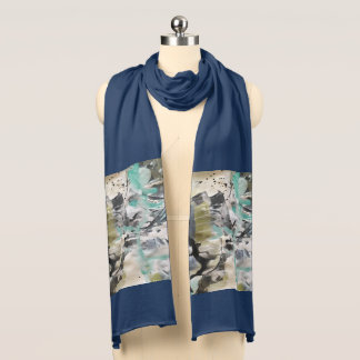 Abstract Painting II Scarf