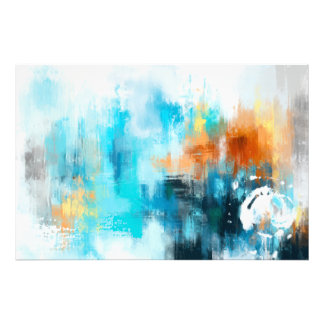 Abstract Painting Photo Print