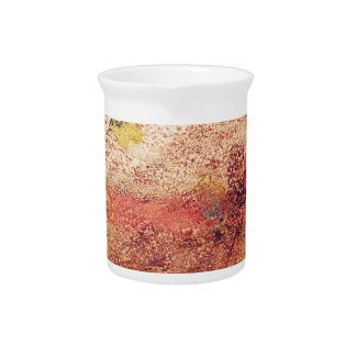 Abstract Painting Pitcher