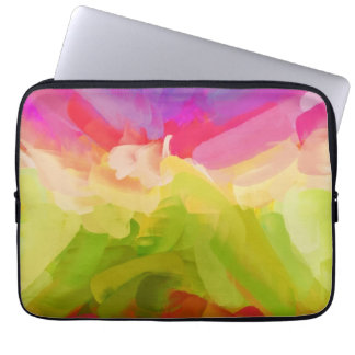 Abstract Painting | Spring Colors Laptop Sleeve