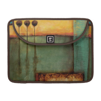 Abstract Painting with Piano Keys Sleeves For MacBooks