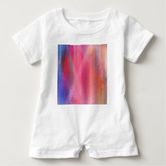 Abstract paints baby bodysuit