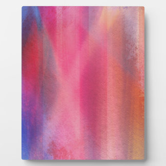 Abstract paints plaque