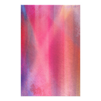 Abstract paints stationery