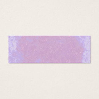 Abstract pale pink painted business card