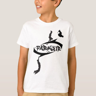 Abstract Parkour Flip T-Shirt