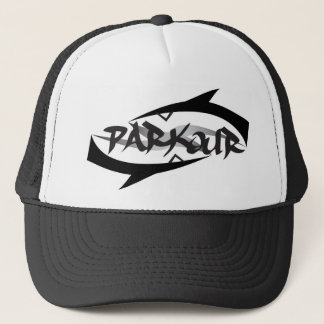 Abstract Parkour Trucker Hat
