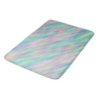 Abstract Pastel Bath Mats