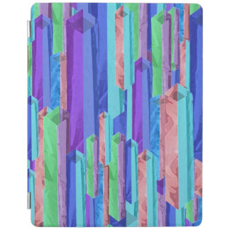 Abstract Pastel Colour Bars iPad Smart Cover iPad Cover