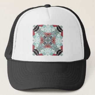 Abstract Pastel Mandala Trucker Hat