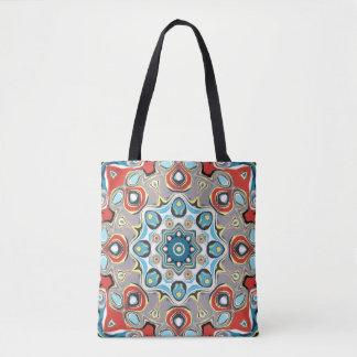 Abstract Pastels Mandala Tote Bag