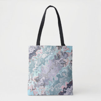Abstract Pastels Pattern Tote Bag