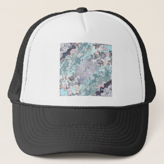 Abstract Pastels Pattern Trucker Hat