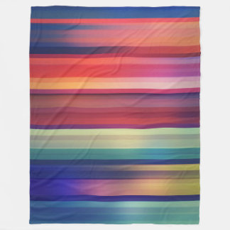Abstract pattern colorful blanket