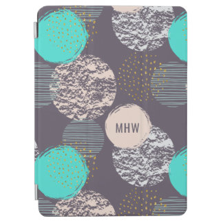 Abstract Pattern custom monogram device covers iPad Air Cover
