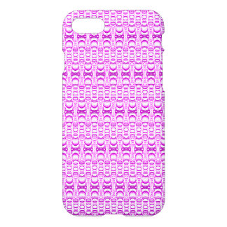 Abstract Pattern Dividers 07 Pink iPhone 7 Case