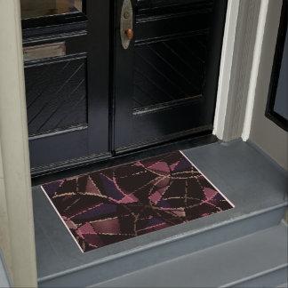 Abstract pattern doormat