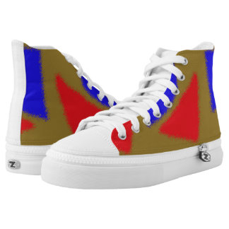abstract pattern high tops