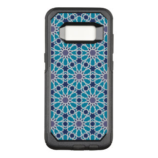 Abstract Pattern In Blue And Grey OtterBox Commuter Samsung Galaxy S8 Case