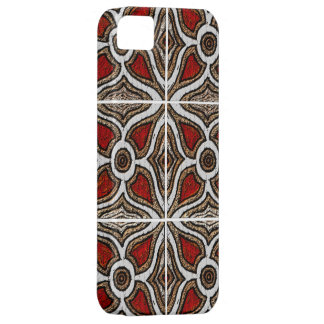 Abstract Pattern Inspired by Portuguese Azulejos iPhone 5 Cases