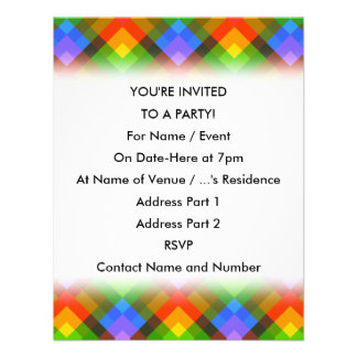 Abstract Pattern Invites