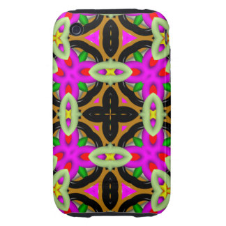 Abstract Pattern iPhone 3G/3GS Case-Mate Tough Tough iPhone 3 Case