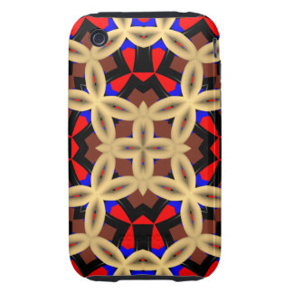Abstract Pattern iPhone 3G/3GS Case-Mate Tough iPhone 3 Tough Cover