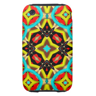 Abstract Pattern iPhone 3G/3GS Case-Mate Tough iPhone 3 Tough Case