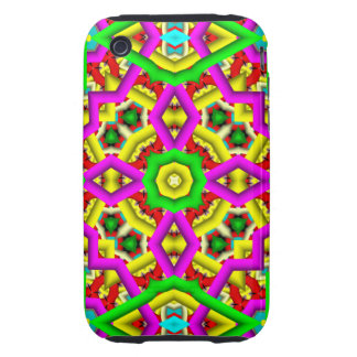Abstract Pattern iPhone 3G/3GS Case-Mate Tough iPhone 3 Tough Cases