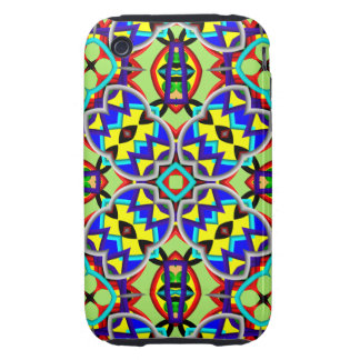Abstract Pattern iPhone 3G/3GS Case-Mate Tough Tough iPhone 3 Cases