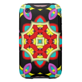 Abstract Pattern iPhone 3G/3GS Case-Mate Tough Tough iPhone 3 Cover