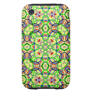 Abstract Pattern iPhone 3G/3GS Case-Mate Tough Tough iPhone 3 Covers