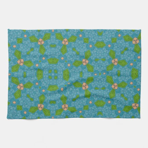 Abstract Pattern Kitchen Towel
