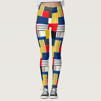 Abstract pattern . leggings