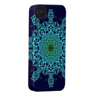 Abstract pattern mandala iphone 4 cases