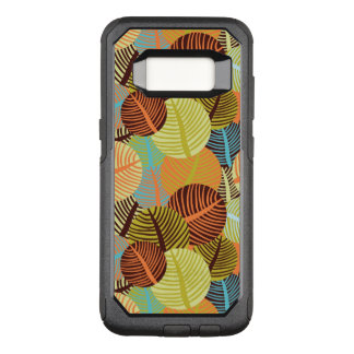 Abstract pattern OtterBox commuter samsung galaxy s8 case