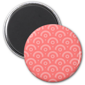 Abstract pattern - pink. magnet