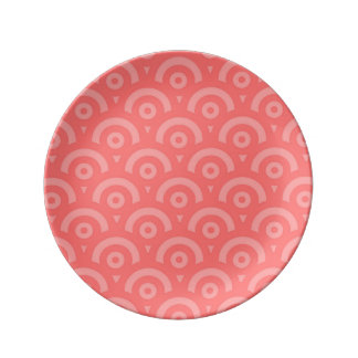 Abstract pattern - pink. plate