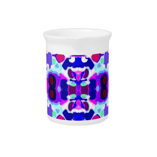 Abstract pattern pitcher