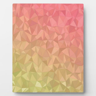 abstract pattern plaque